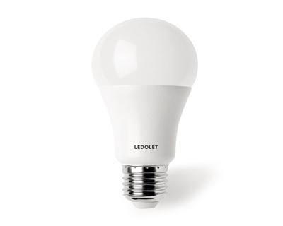12/24VDC 9W Solar Led Ampul Beyaz Işık
