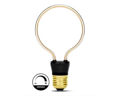 Filament 4W Led Ampul 0 Ring Kırmızı