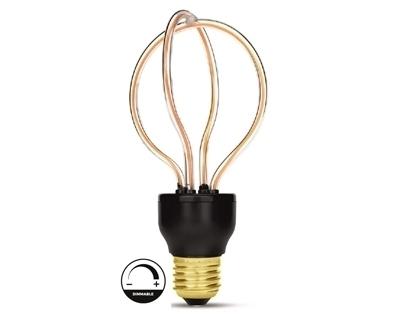 Filament Led Ampul 8W Günışığı + Kırmızı 02 Ring Mode