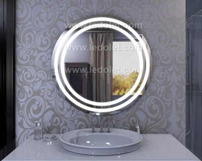 Led Illuminated Light Bathroom Mirror