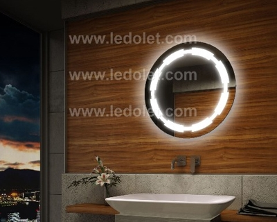 Led Light Illuminated Bathroom Mirror